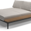 Thumbnail: Gloster Grid Left/Right Chill Chaise
