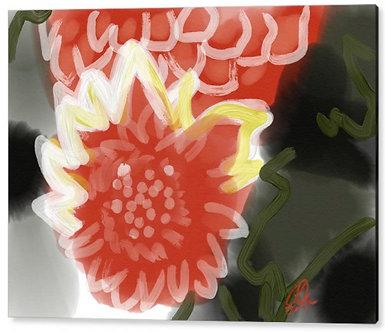 Red Penes Acrylic Print