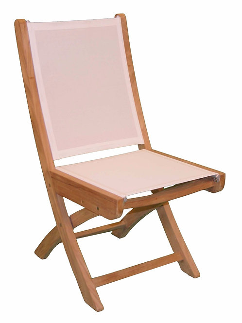 Gloster, Kingsley Bate, Barlow, Folding Side Chair, Dining Table Side Chair
