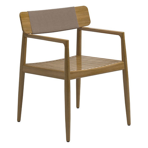 Gloster Archi Dining Chair w/Arms