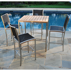 Kingsley Bate Tiburon Bar Height Dining Set