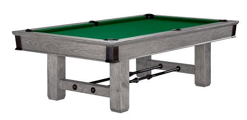 Canton 8' Billiards Table - Rustic Grey