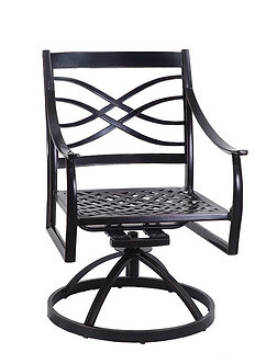 Wave Swivel Dining Chair
