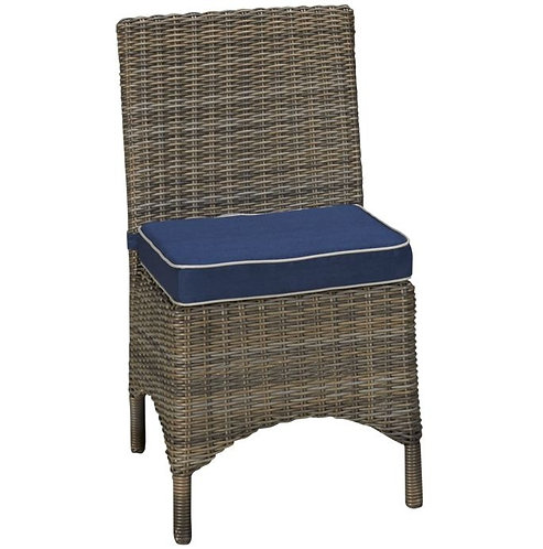 Deep Seating Side Chair, North Cape International Bainbridge, NCI Bainbridge, North Cape International Cabo, NCI Cabo, Brown