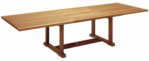 """Bristol 121""""- 86"""" Large Rect  Extending Dining Table"""