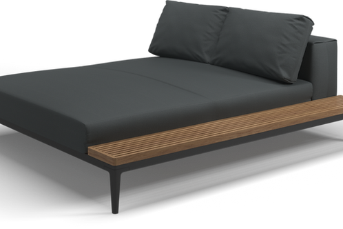 Gloster Grid Left/Right Chill Chaise
