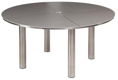 """Equinox 59"""" Ceramic Rd Dining Table"""