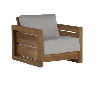 Bali Teak Lounge Chair