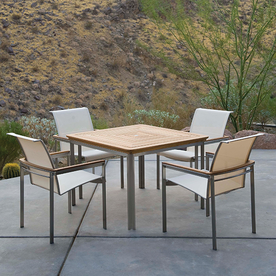 Kingsley Bate Tivoli Dining Table and Dining Chairs