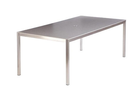 "Equinox 59"" Ceramic Dining Table"