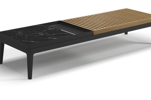 """Gloster Grid 59.5"""" Rectangular Coffee Table"""