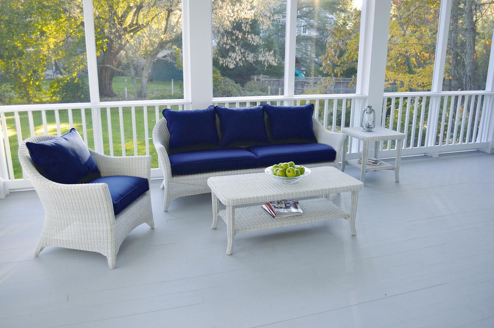Bainbridge Cape Cod Sofa and Lounge Chair and Ottoman