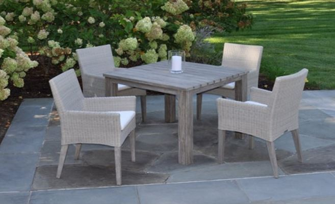 Kingsley Bate Paris Dining Table and Dining Armchairs