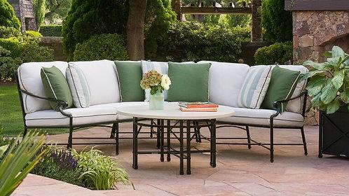 Venetian Sectional 5 Cushion Sofa