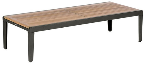 """Aura 63"""" Rect Coffee Table"""