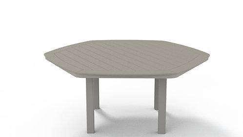 "MGP 62"" Hex Table w/Hole"