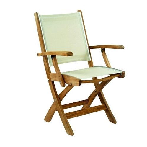 Kingsley Bate St. Tropez Folding Arm Chair, Kingsley Bate St. Tropez, Kingsley Bate Arm Chair