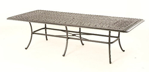 """Biscayne 110"""" cast top Table"""