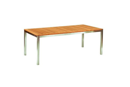 "Kingsley Bate Tiburon 76"" Rectangular Dining Table"
