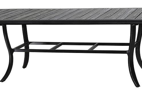 "Largo Lattice 114"" Ext Dining Table"