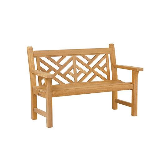Premium Teak Outdoor Bench, 4 ft wooden bench, wooden bench teak, Gloster, Barlow