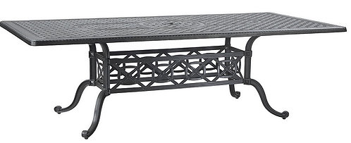 """Grand Terrace 86"""" Rect Dining Table"""