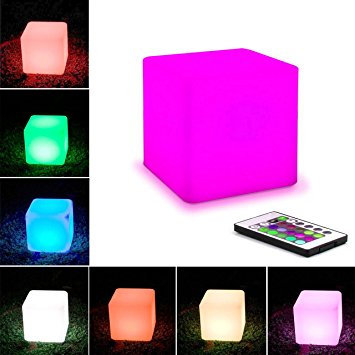 "LED Cubes 16"" sold in pairs"