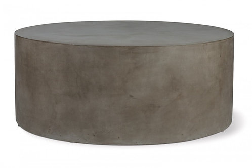 "Concrete Coffee Table 40"" Round"