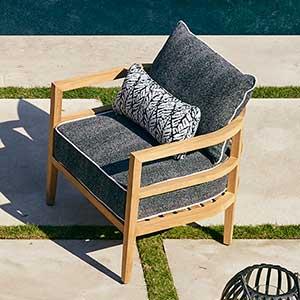 Summer Classics Santa Barbara Lounge Chair