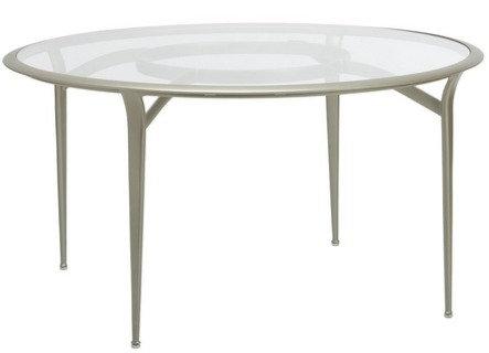 "Brown Jordan  54"" Rd Dining Table w/Aluminum Top"