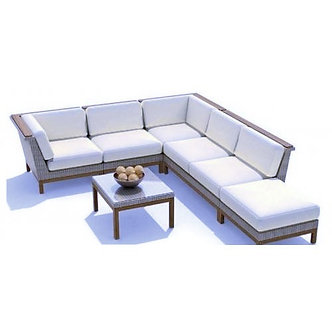 Azores 5 Cushion Sectional