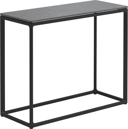 """Gloster Maya 30"""" x 12"""" Low Console Table Ceramic"""