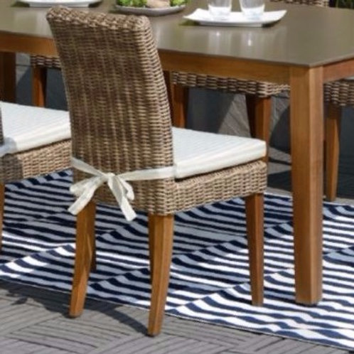 Gloster, Brown Jordan, Kingsley Bate, Barlow, Dining side chair, outdoor dining side chair
