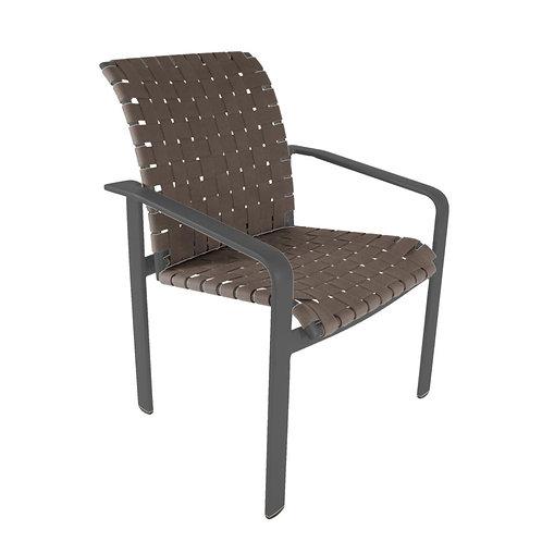 Brown Jordan Softscape Strap Arm Chair