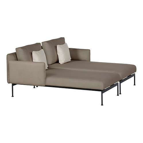 Barlow Tyrie Layout Double Chaise