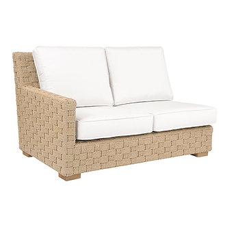 St. Barts Left Arm Sectional Settee