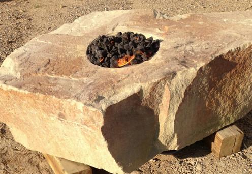 Fire Rock Firepit