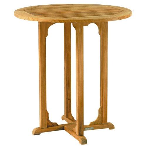 "Kingsley Bate Essex 36"" Round Bar Table"