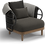 Thumbnail: Gloster Dune Lounge Chair