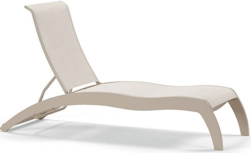 Dune Stacking Armless Chaise