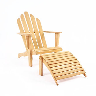 Traditional Adirondack Chair Set