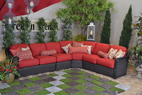 South Hampton 5 Cushion Sectional