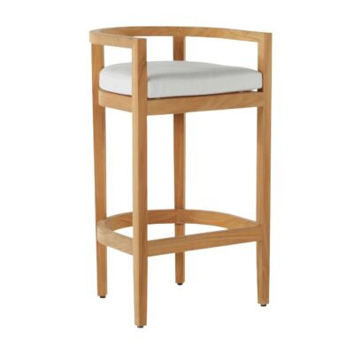 "Summer Classics Santa Barbara 30"" Barrel Bar Stool"