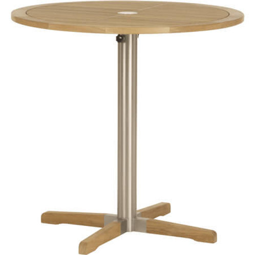 "Barlow Tyrie Equinox 40"" Round Bar Table"