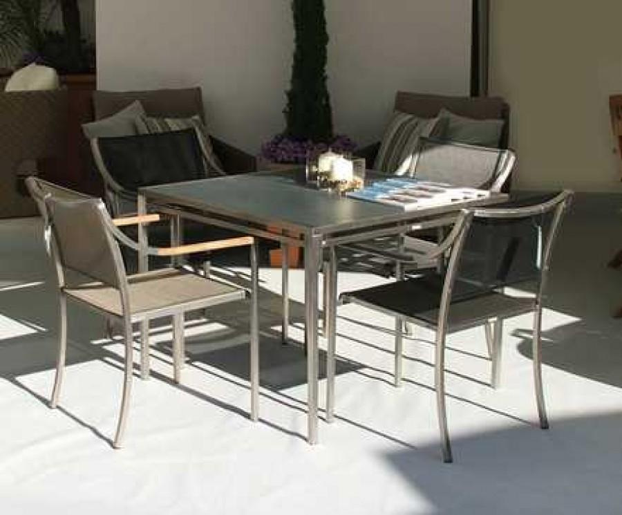 Barlow Tyrie Quattro Dining Set