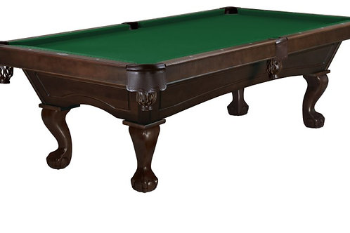 Brunswick Allenton Pool Table, Complete Installation, Premium Pool Table, Customizable Brunswick Pool Table