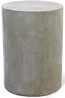 Concrete End Table Round