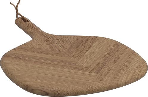 Small Teak Leaf Cutting Board