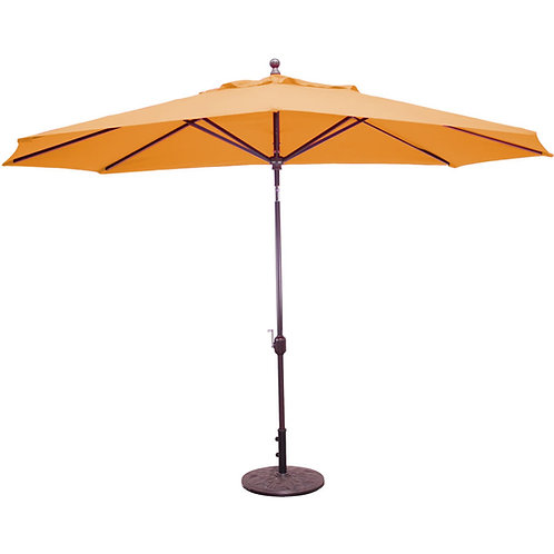 Galtech 8' x 11' Oval Auto Tilt Umbrella