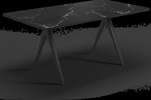 "Gloster Split Dining Table 67"" - Ceramic Top"